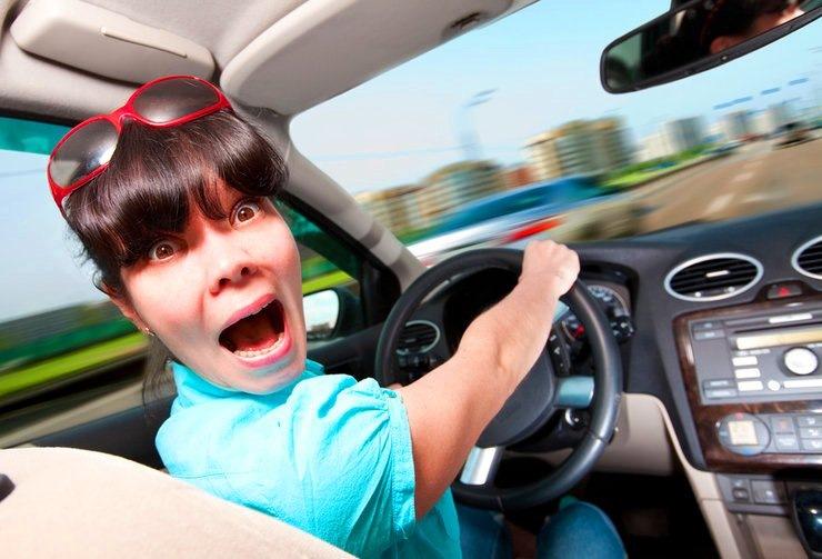 Одноклассниках, картинки смешные девушки за рулем