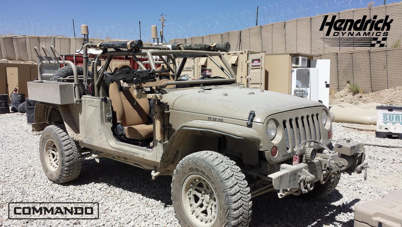 Jeep wrangler military