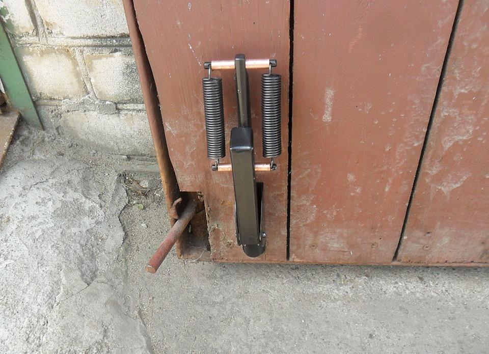 Шпингалет для ворот гаража купить в гараж металлический анжеро судженск