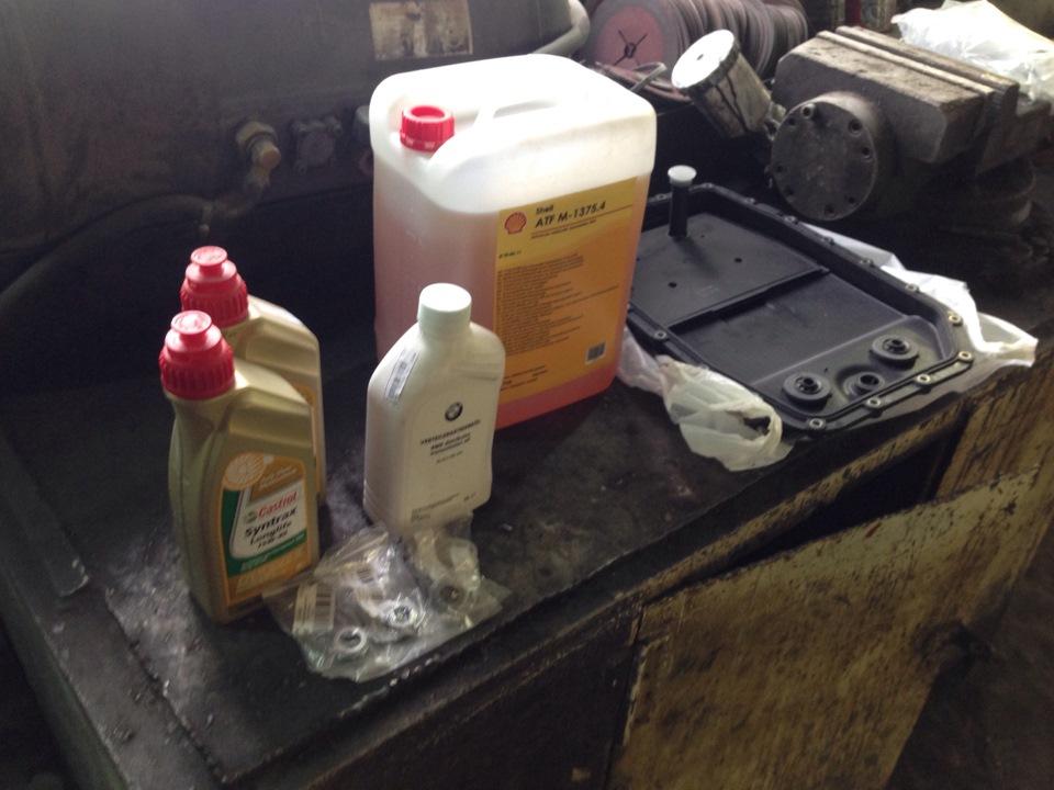 Замена масла в редуктаре бмв