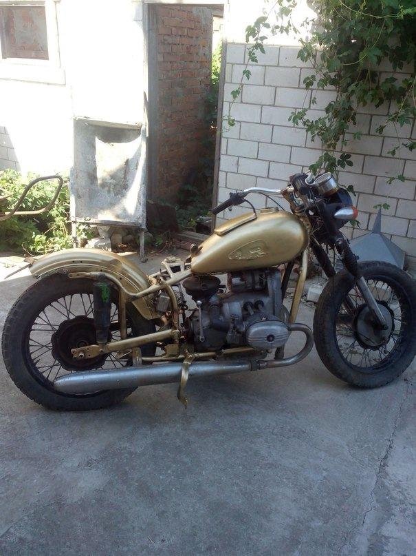 фото доработки мотоцикла урал что