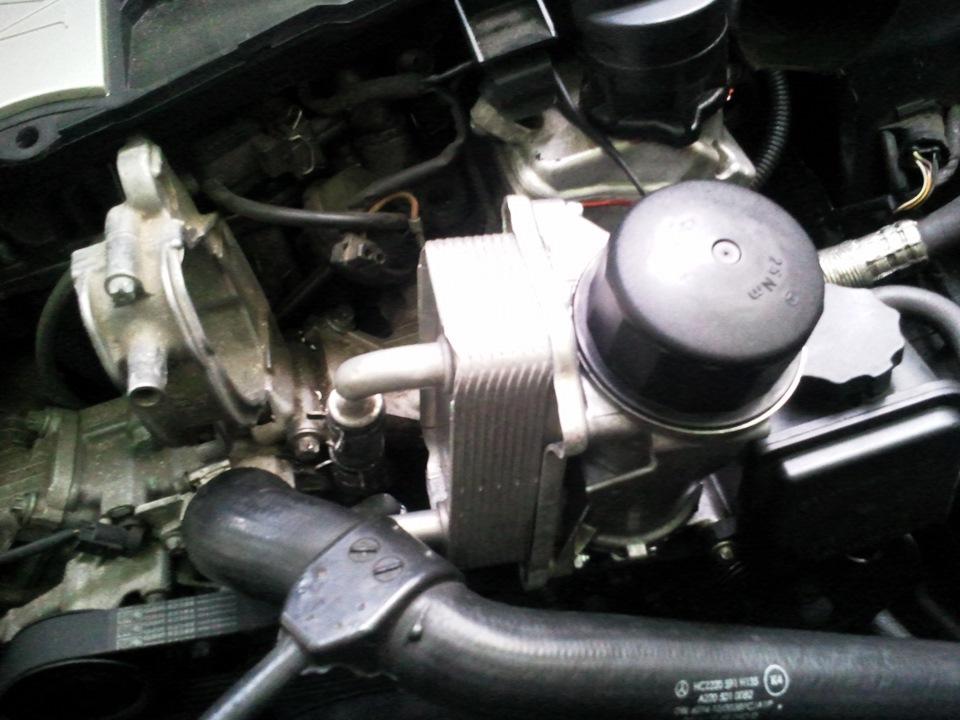 Теплообменник на 112 двигателе м6 fg теплообменник