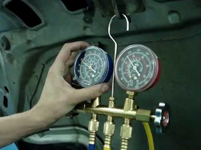 Как проверить герметичность кондиционера в машине своими руками приора 6