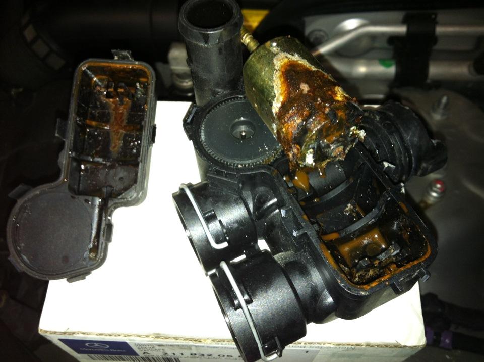 W211 клапан теплообменника установка для промывка теплообменников