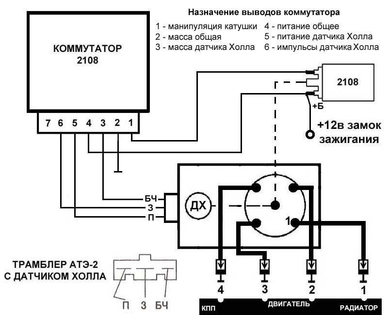 Схема АТЭ-2