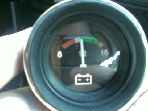 схема подключения датчика зарядки автомобиля