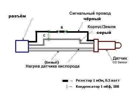 обманка на лямбда-зонд калина 2 — бортжурнал Лада Калина ...: http://drive2.ru/l/4127845