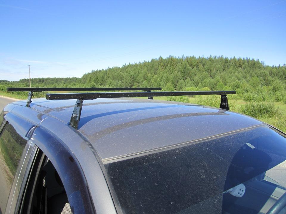 Багажник на крышу приоры своими руками