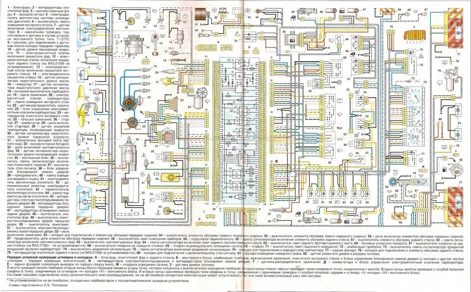 схемы электрик самара