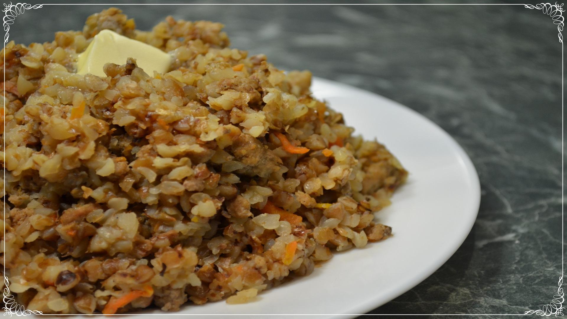 Вкусная гречка рецепт с фото пошагово