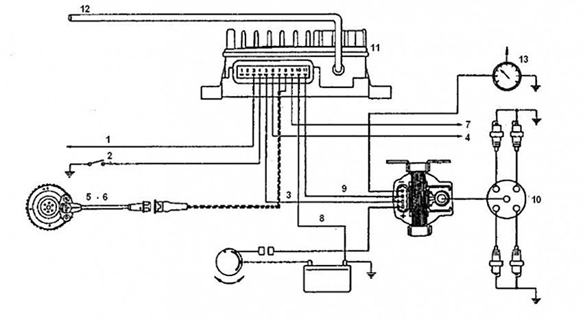 камутатор на фиат темпра бинзин 1.6