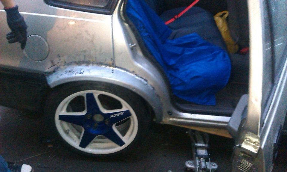 Как заделать арки на авто