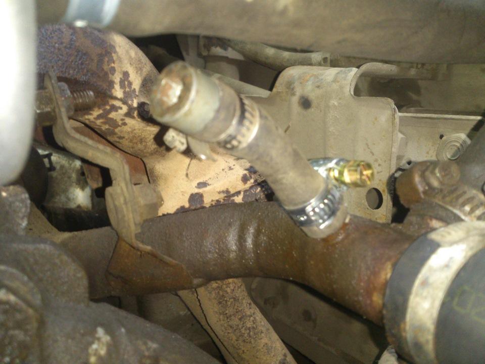 Фото №21 - установка термостата от гранты на ВАЗ 2110