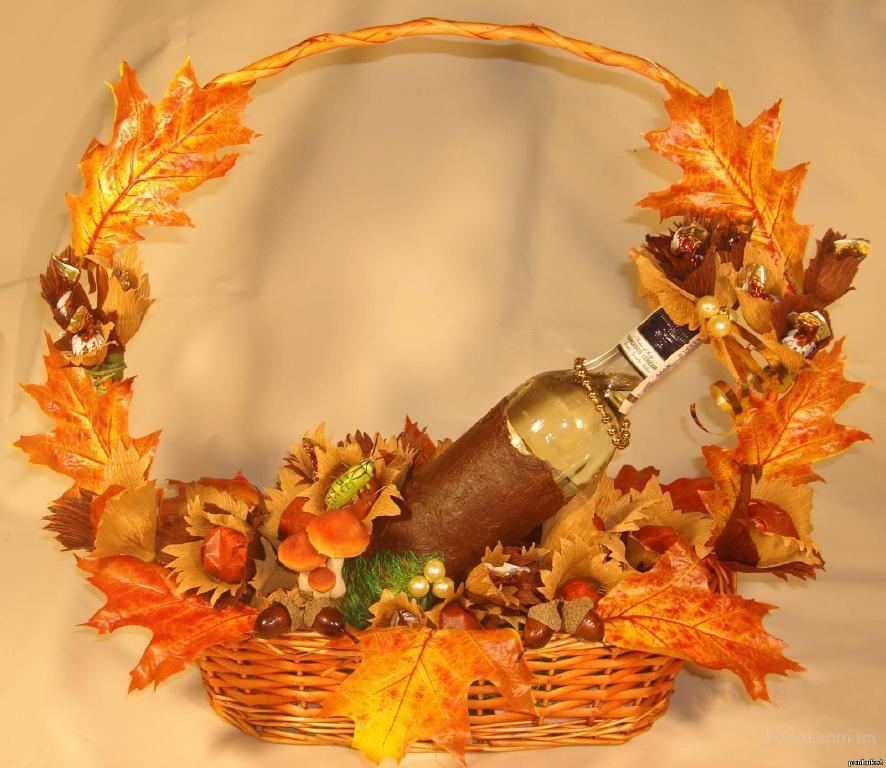 Осенние корзинки своими руками