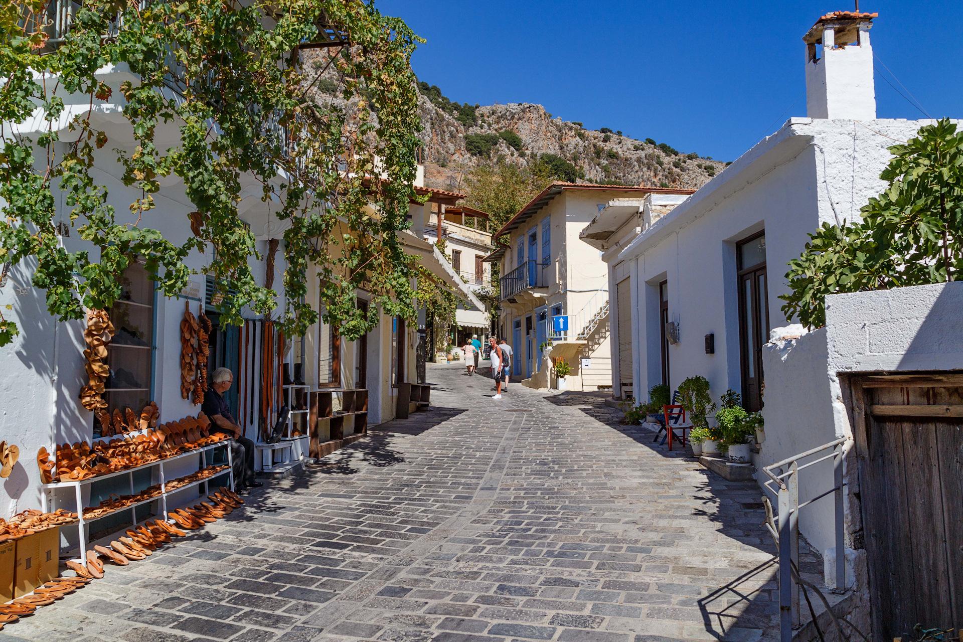 Улицы в греции фото