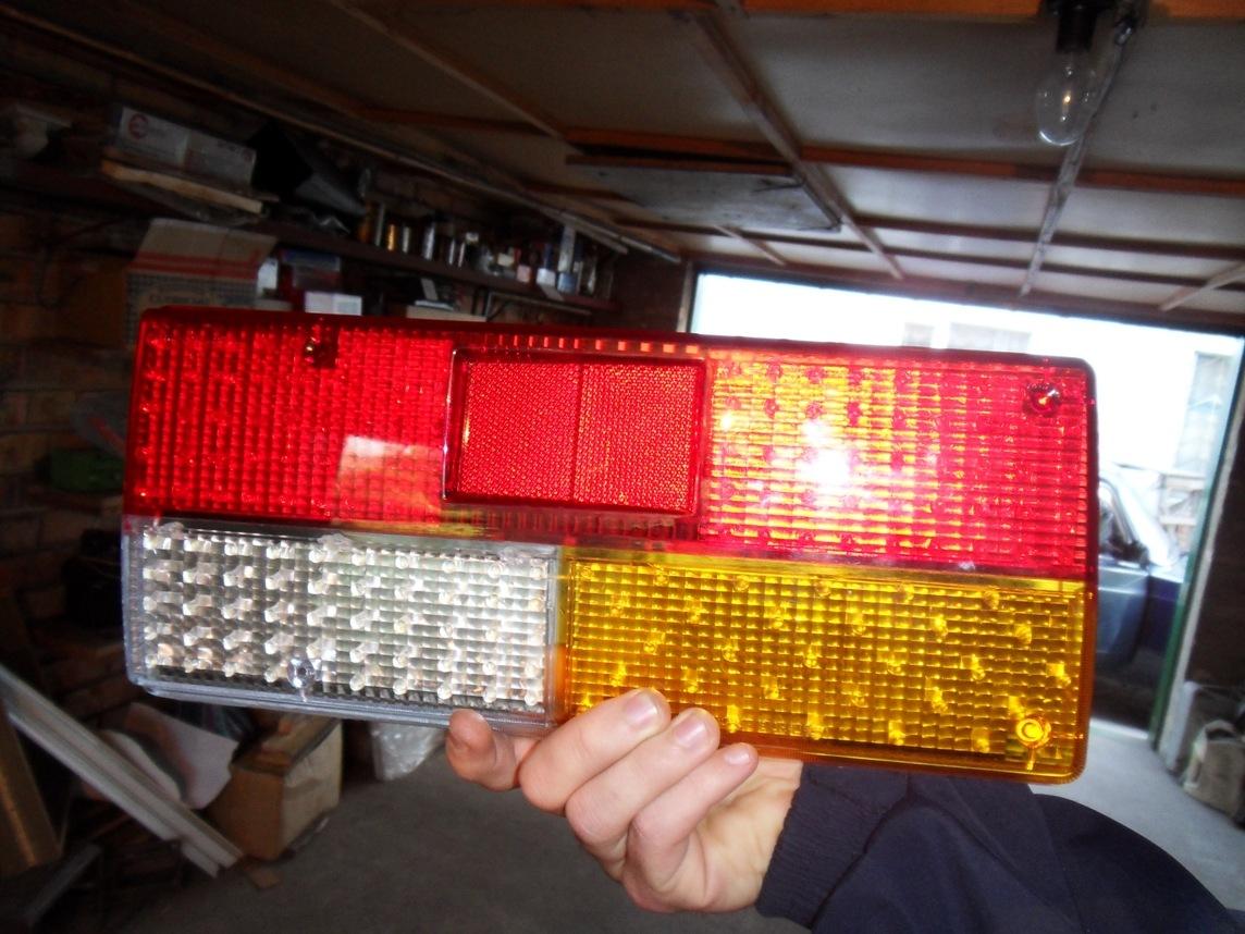 схема подключения через фары led ленты