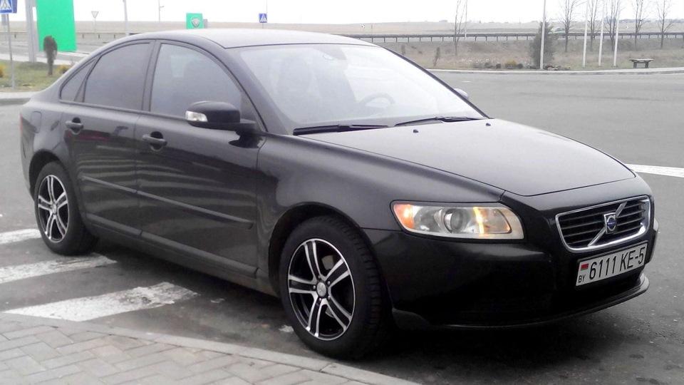 volvo s40 рестайлинг 2007