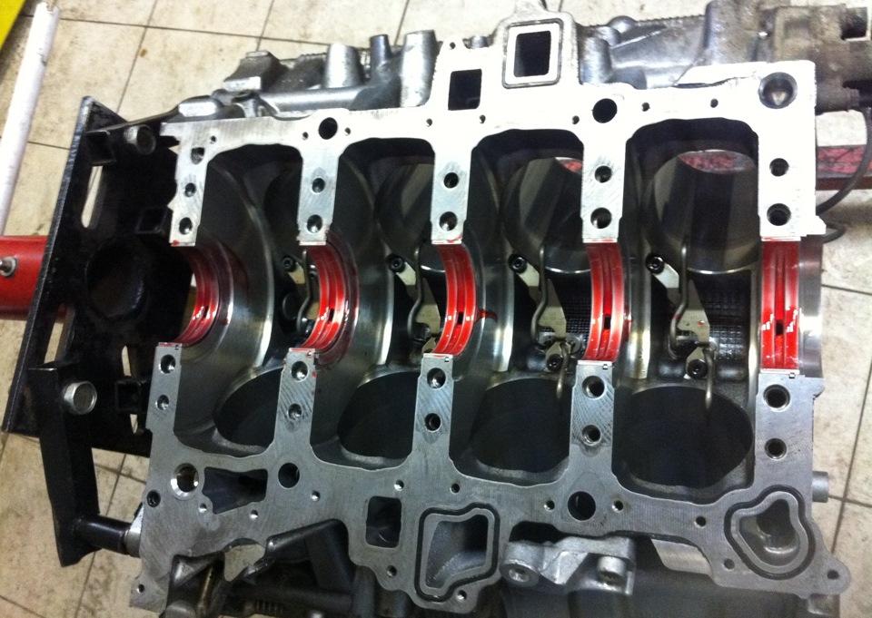 сборка двигателя qg15de