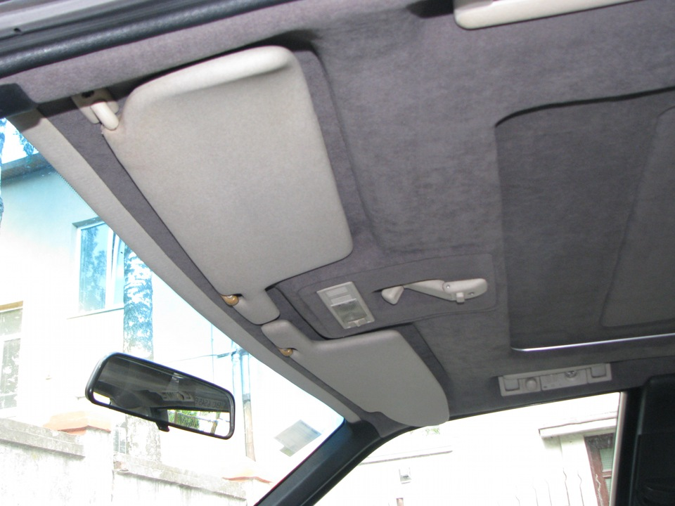 Перетяжка потолка автомобиля своими руками ауди 50
