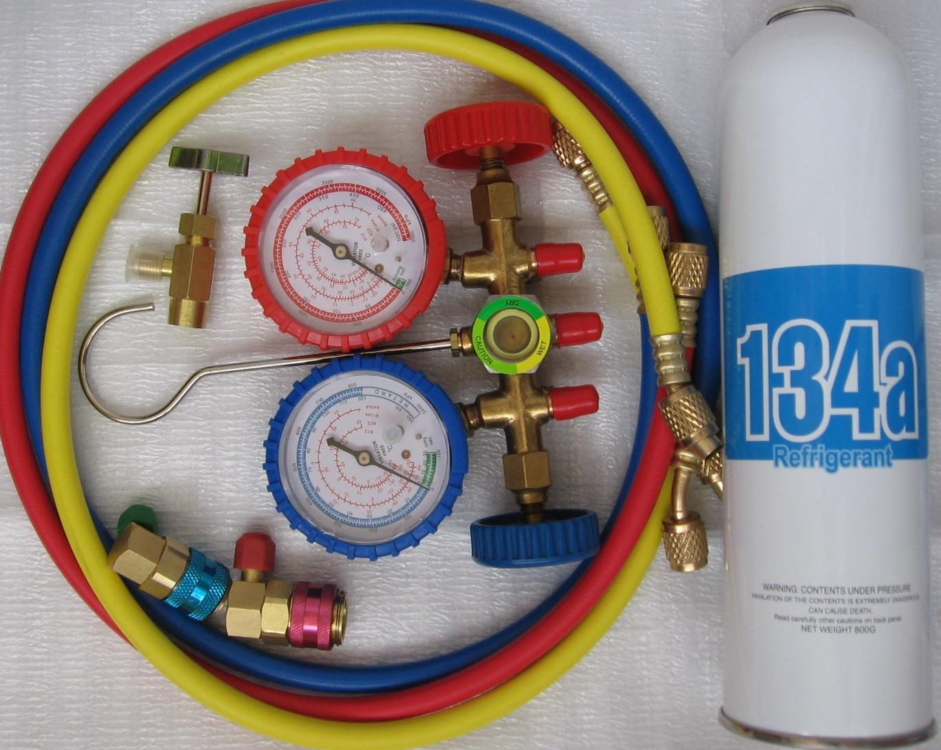 Инструмент для заправки автокондиционеров своими руками 24