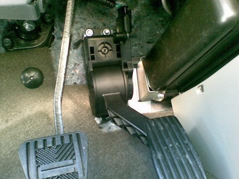 Педаль газа электронная в сборе 2170-1108500