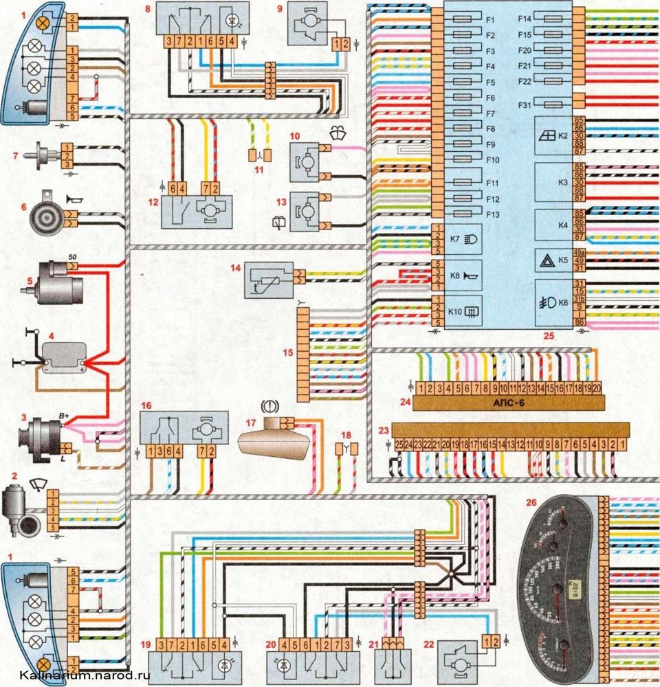 схема электрика форд фокус 2