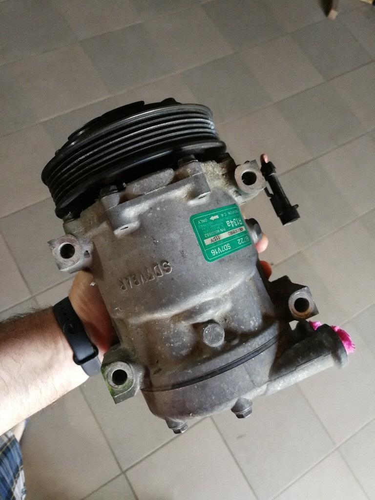 Воздушный компрессор из автомобильного кондиционера