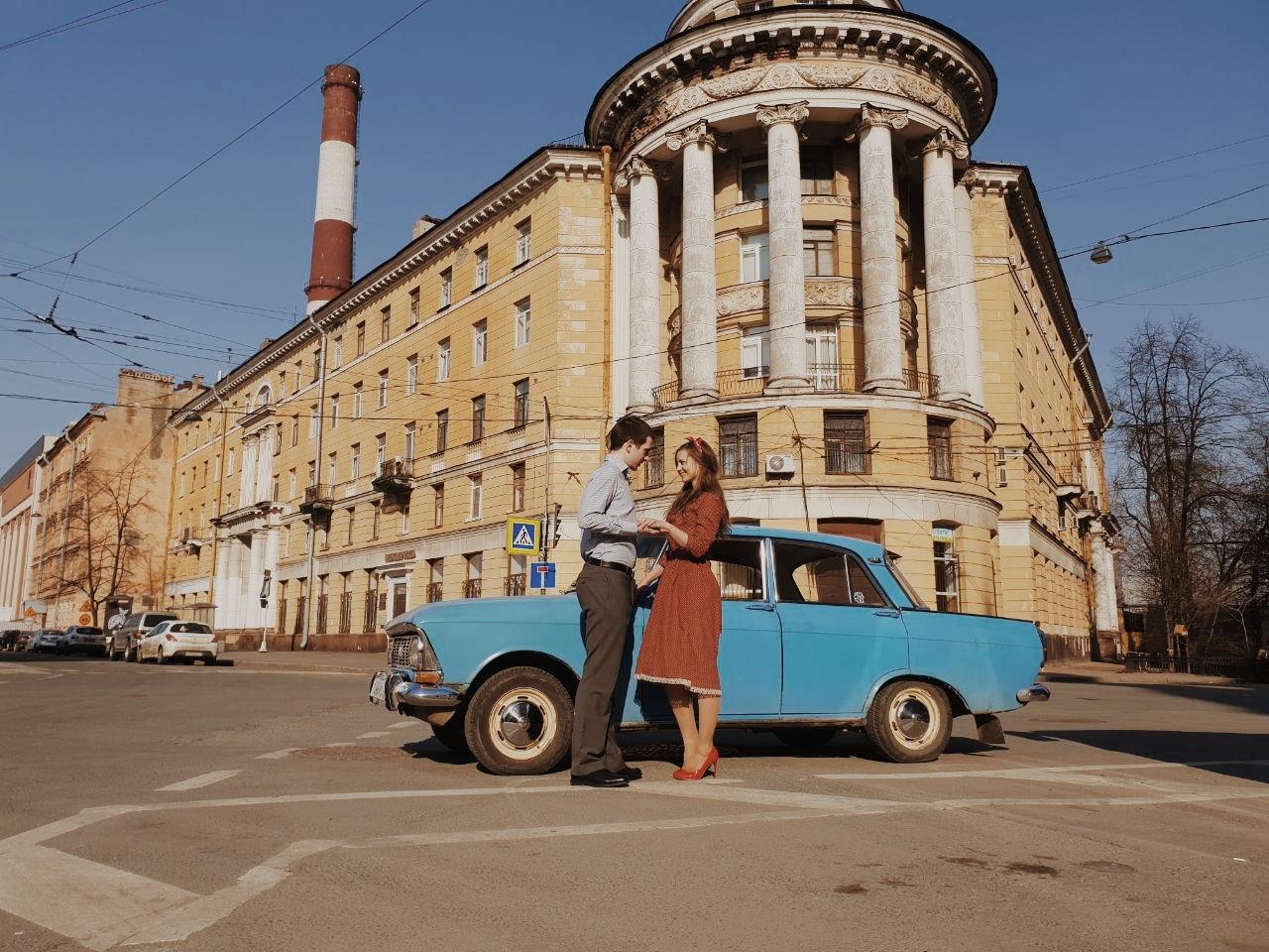называют оригинальные ретро фотосессии санкт петербург внимания
