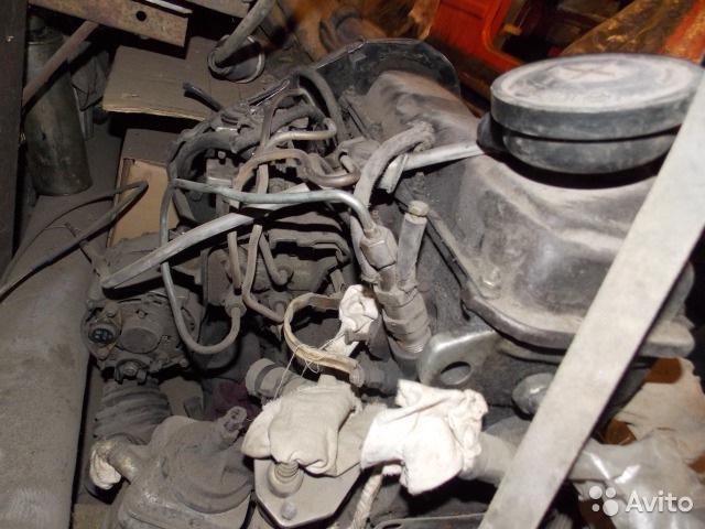 мотор от ауди на фольксваген транспортер т3