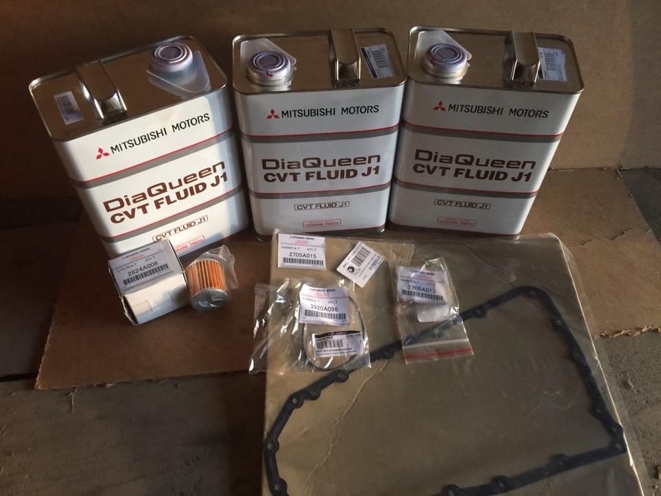 Замена масла в вариаторе митсубиси аутлендер 3 своими руками