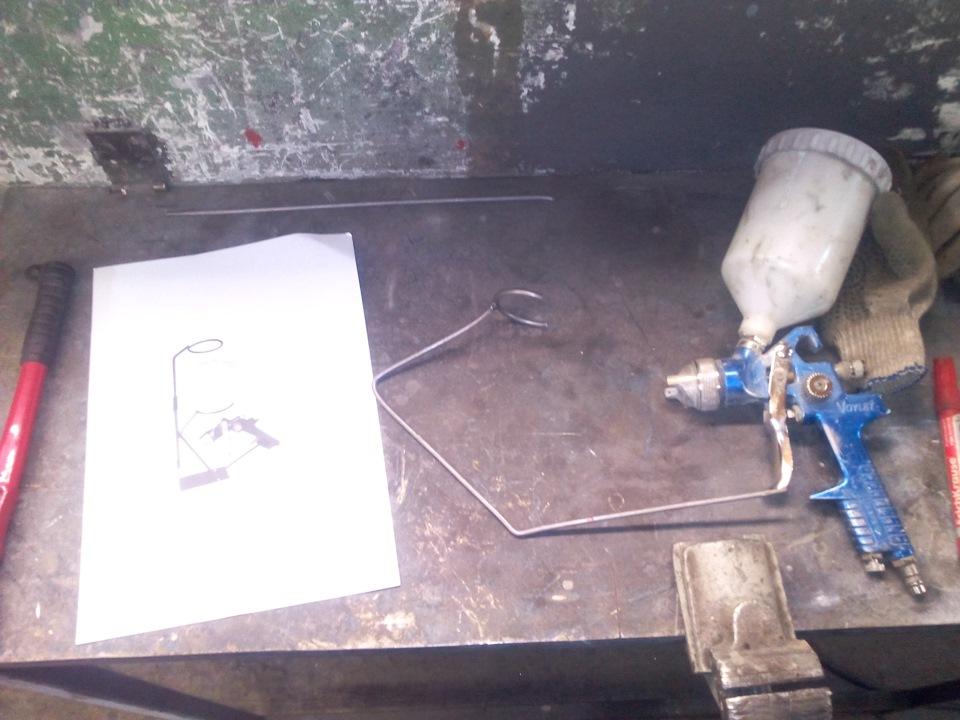 Краскопульт ремонт своими руками 135