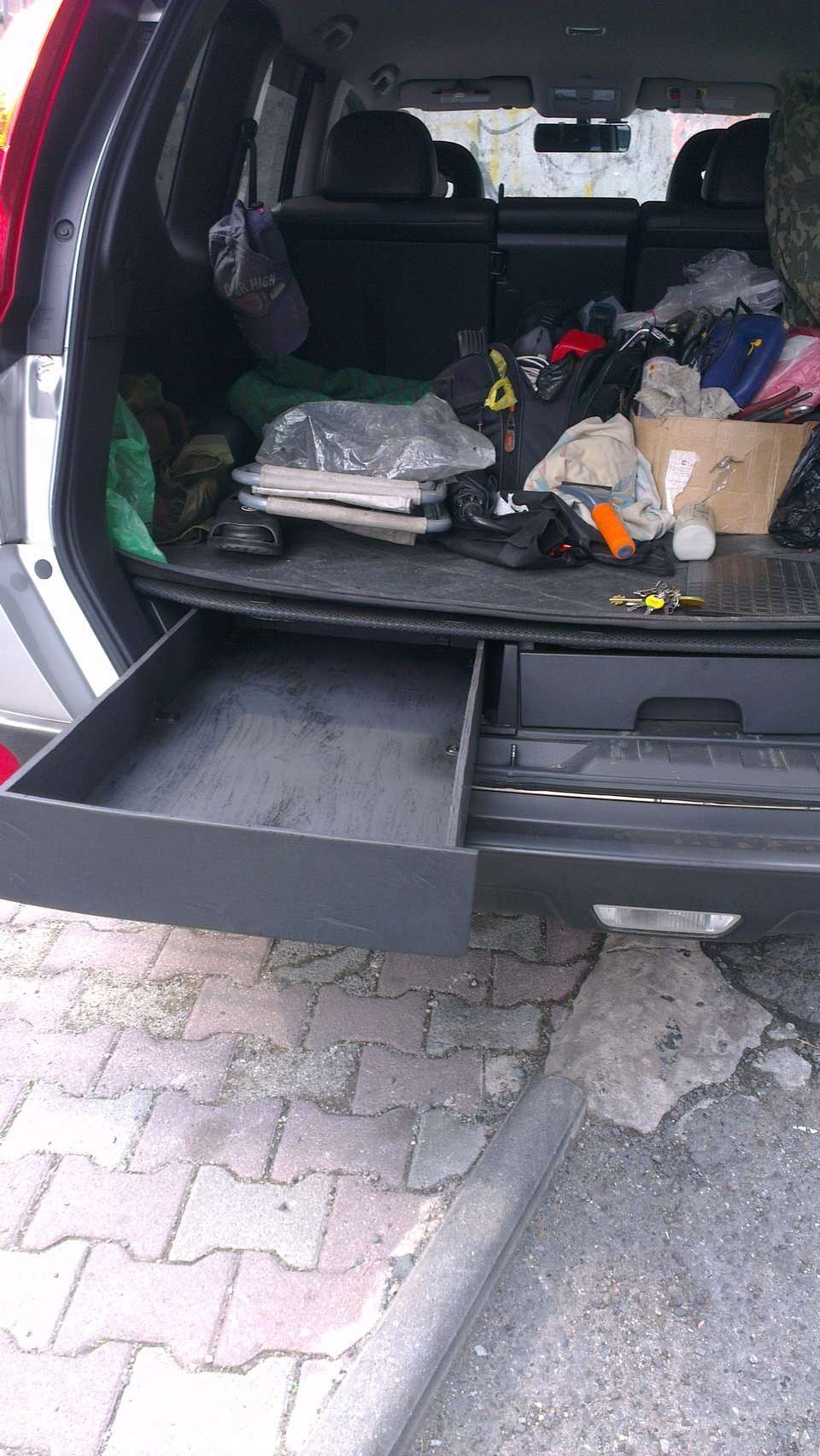Ящик своими руками для багажника