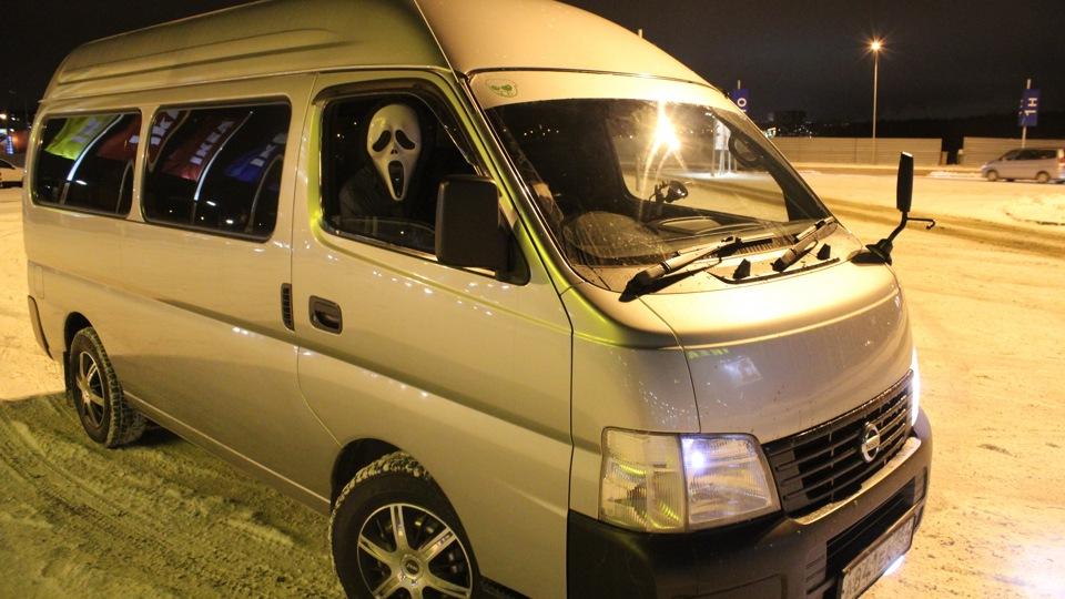 nissan caravan отзывы