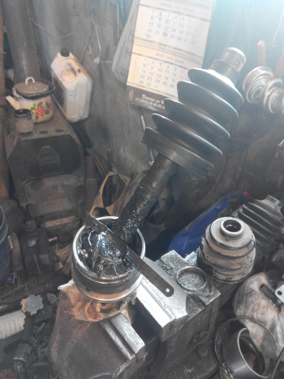 ford ranger замена пыльника пна приводах