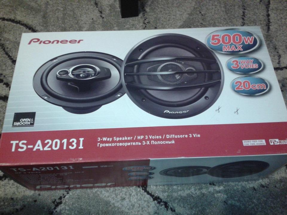 Автомобильные колонки (20 см) Pioneer TS-A2013I - фото 7