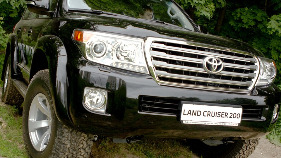 toyota land cruiser тест драйв