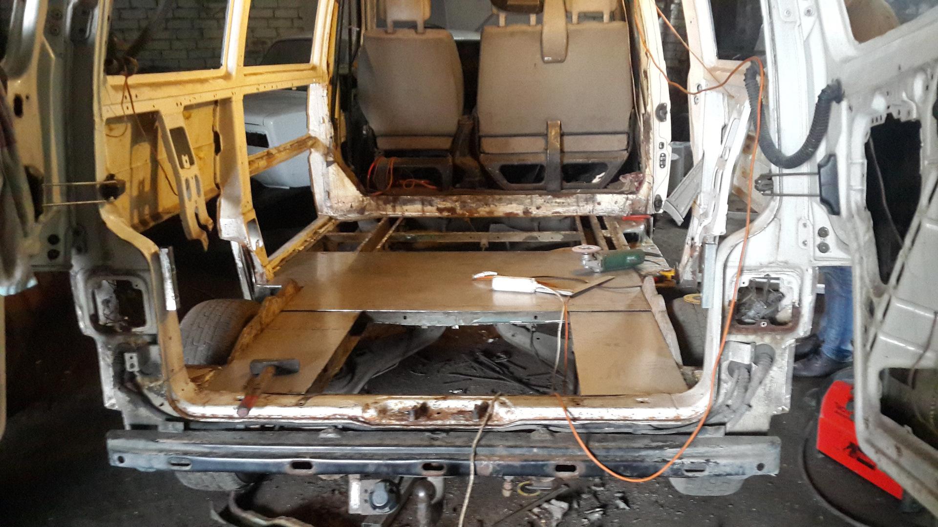 Ремонт кузова транспортера суппорт на фольксваген транспортер т4