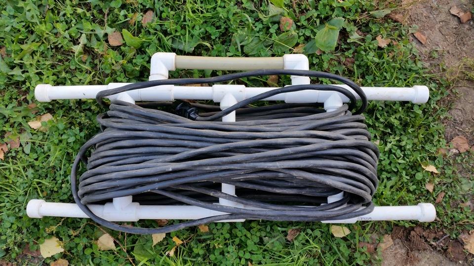 Переноска для кабеля своими руками 22