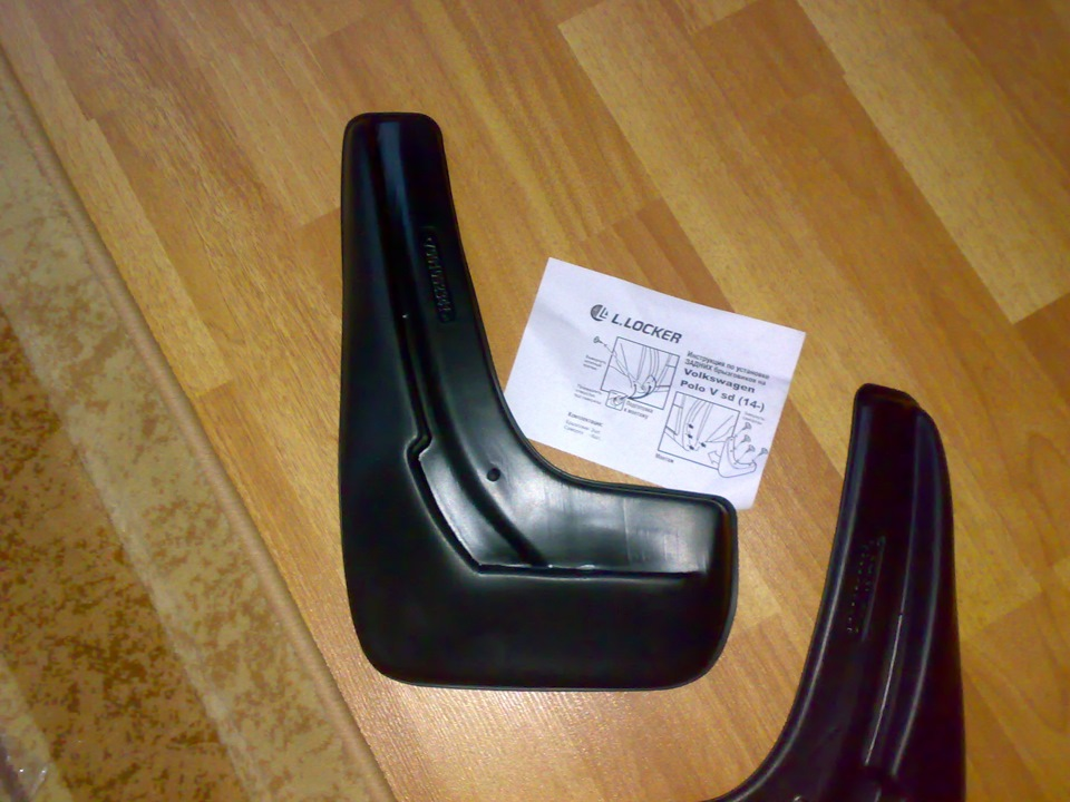 передние и задние брызговики фольксваген поло седан