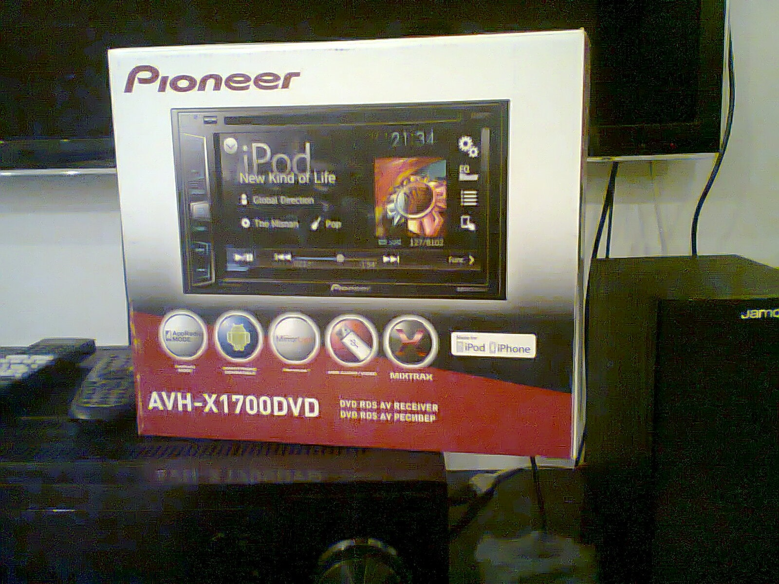 PIONEER AVH-X1700DVD CAR MULTIMEDIA 64BIT