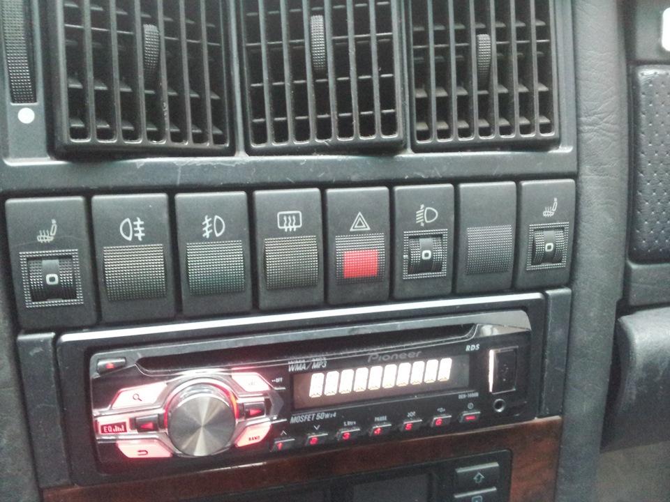 кнопки в нашей торпеде