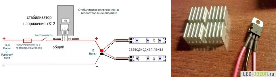 Светодиодная лента 12 вольт