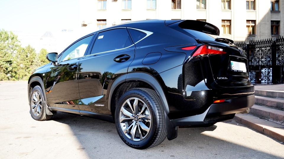 lexus nx hybrid black sokol fsport drive2