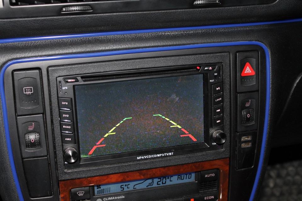 Ford focus 1 наши комментарии по установке: эксклюзив!