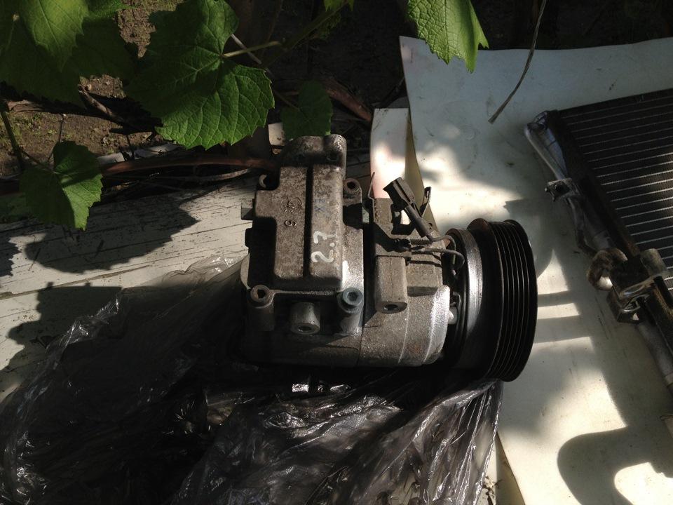 хендай тибурон компрессор кондиционера