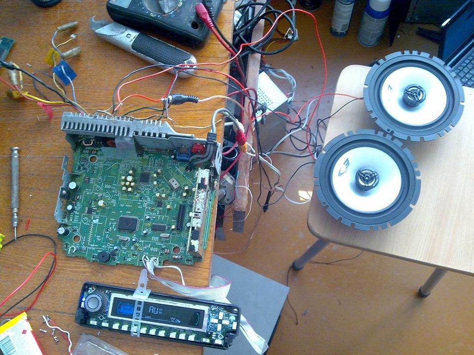 Усилитель звука своими руками из магнитофона