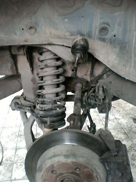 задние стойки на мерседес мл-320w163