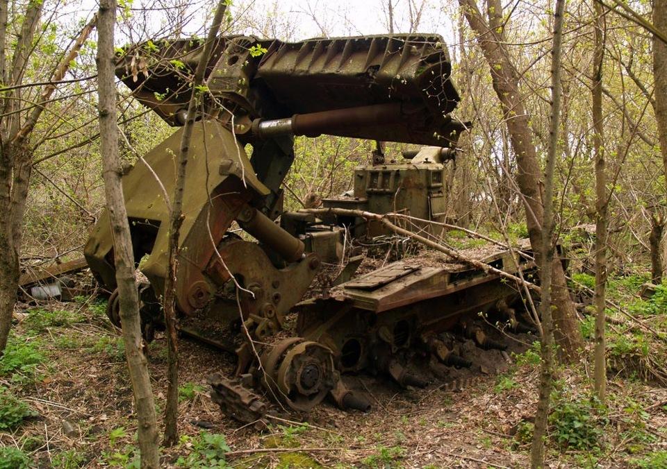 ваши фото брошенной военной техники времен вов битум, получаемый переработки