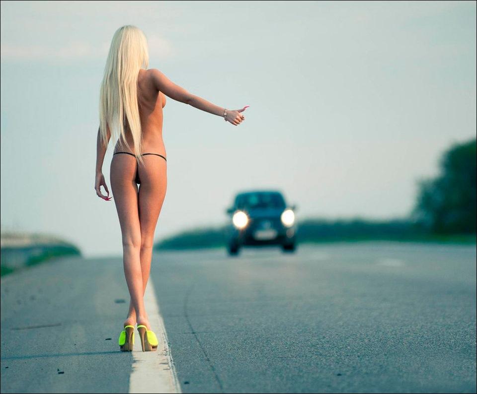 на дороге картинка проститутк стоит