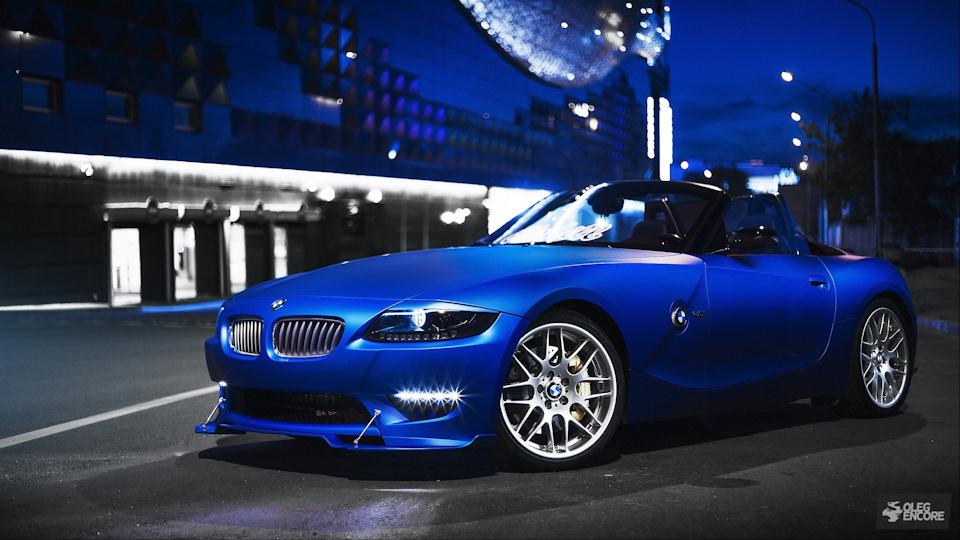 Bmw Z4 Blue Aluminium Drive2